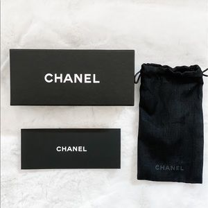 Chanel Eyewear Box and Pouch
